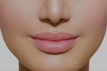 Add volume to lips